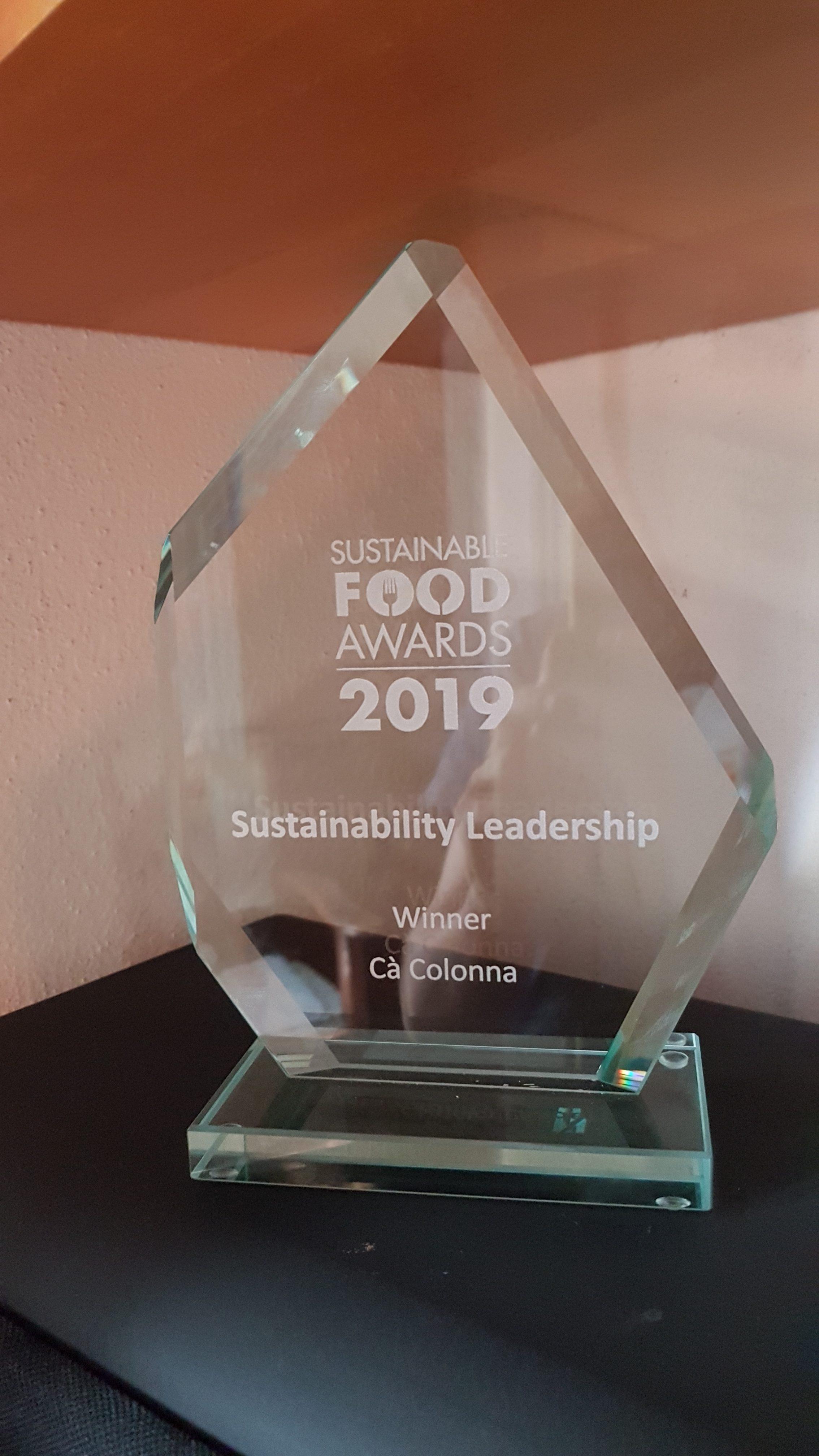 sustainable food award